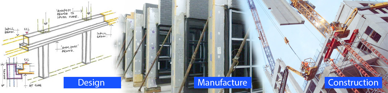 PCE is a UK market leader in the offsite construction of precast concrete and prefabricated structural solutions