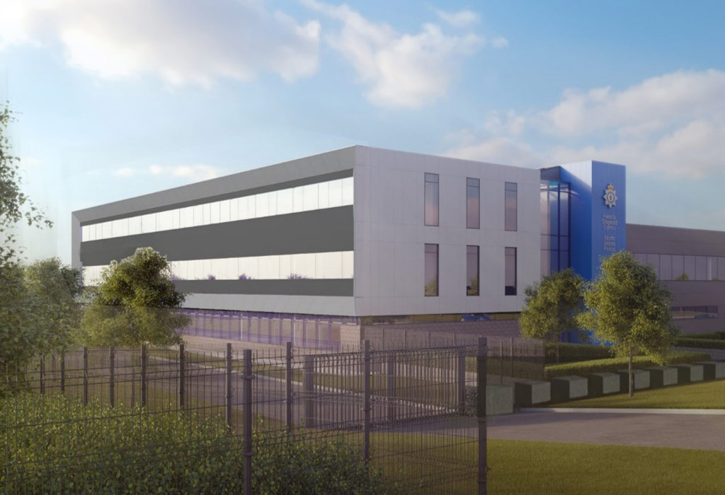 Wrexham Police HQ to feature Hybrid structural solution