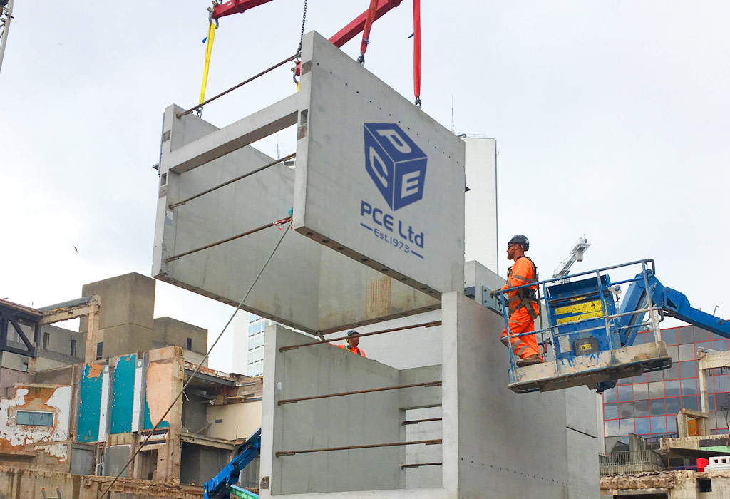 Paradise update 14 – offsite engineered precast concrete modular units
