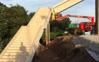 Offsite manufactured precast concrete stairway by PCE 8