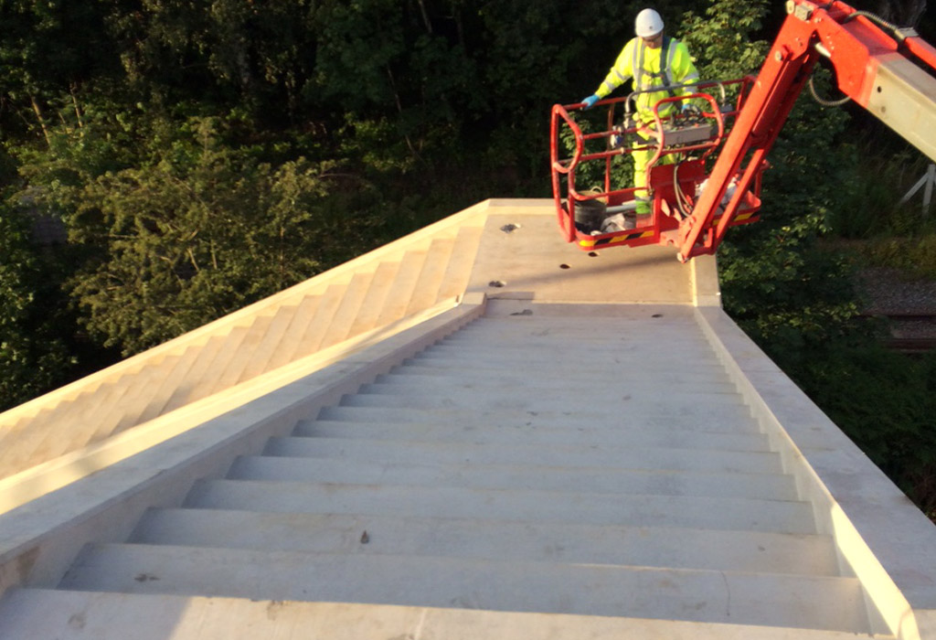 Offsite manufactured precast concrete stairway by PCE 9
