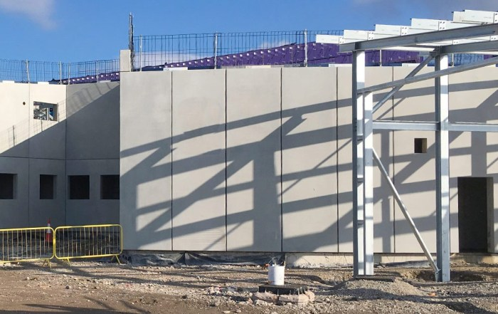 Offsite reinforced concrete custody suite in Blackpool