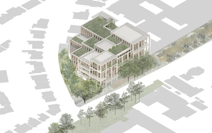 Kingston University Town House concept