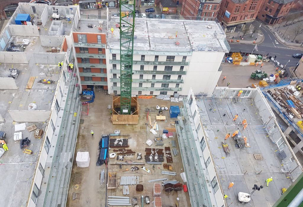 Chapel Wharf update 4 – level 7 construction underway