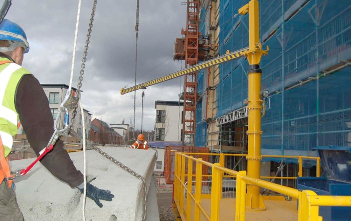 PCEs use of their Slingsafe system help improve site safety