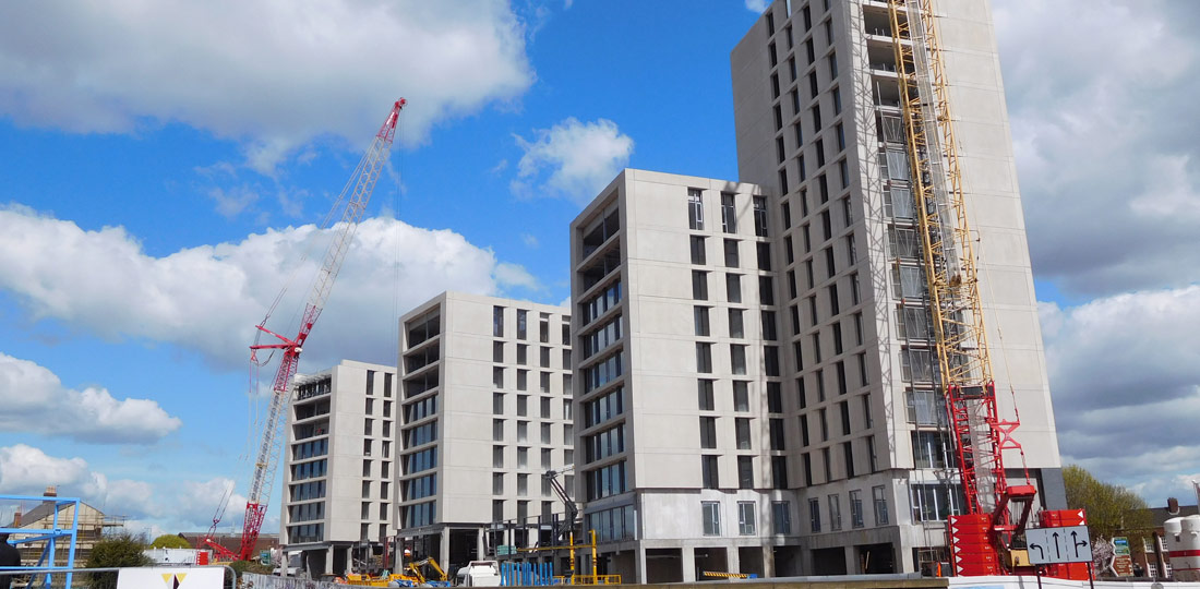 Student accommodation projects carried out by PCE Ltd