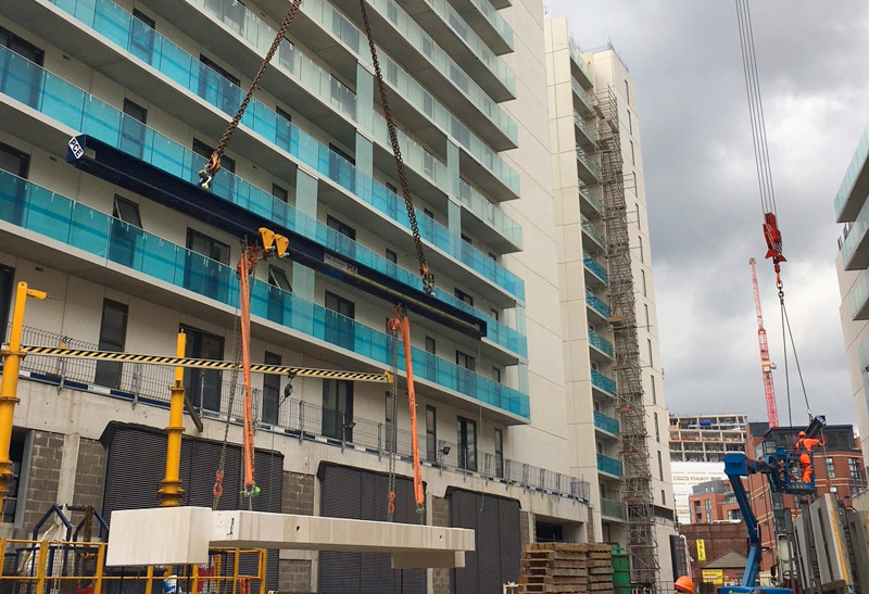PCEs collaborative approach will result in the four precast concrete structures