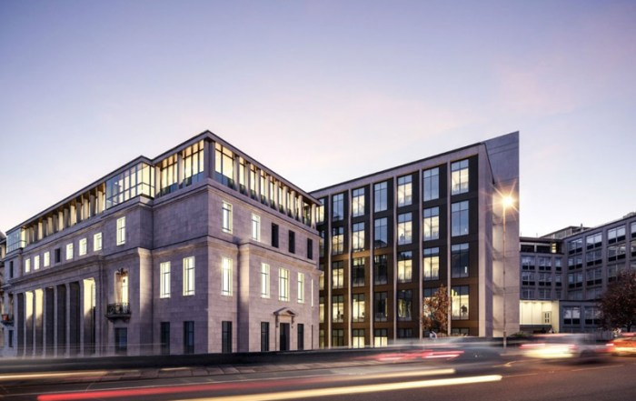 The well proven HybriDfma approach will be used on the Sir William Henry Bragg Building
