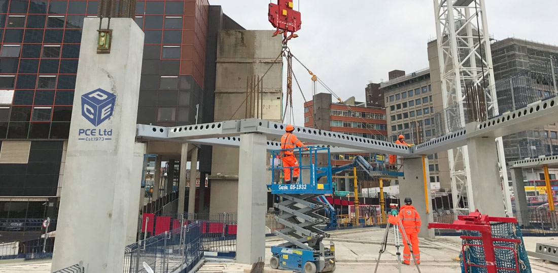 Offsite engineered precast concrete and steel components by PCE Ltd