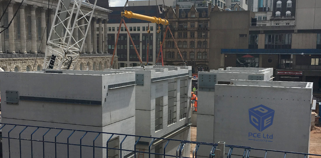 Precast units by PCE improve the overall quality of a project with improved accuracy of fit