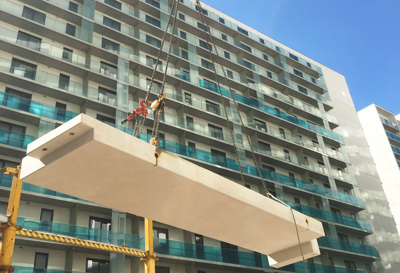 PCE's HybriDfMA Living Systems approach enabled construction without any external scaffolding
