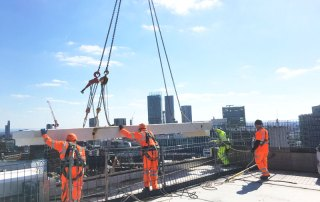 PCE Ltd has worked closely with Main Contractor Sir Robert McAlpine from the start of the tender