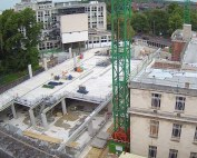 PCE complete ground floor level of Sir William Henry Bragg Building