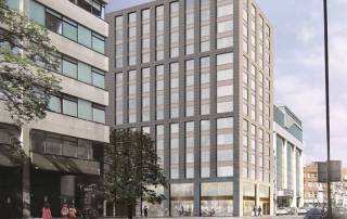 PCE's hyTower® Building System for a 14 storey Aparthotel in Whitechapel, London