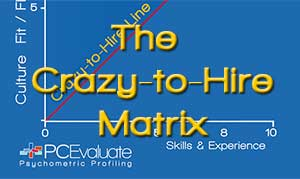 The Crazy-to-Hire Matrix