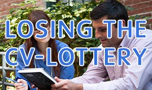 Gambling on the CV Lottery