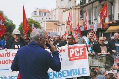 Manifestation 14.04 Marseille (83)