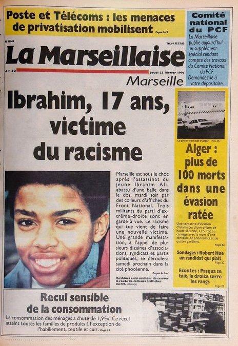 Avenue Ibrahim Ali : 26 ans de combat