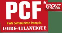 Logo du PCF 44 - Front de Gauche