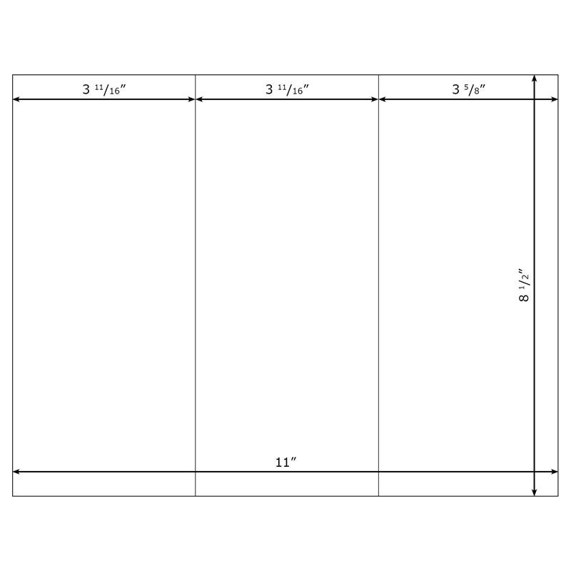 Free Blank Brochure Templates blank brochure vector free download – Blank Brochure Template