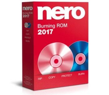 Nero Burning ROM 2017 Crack Full Free Download