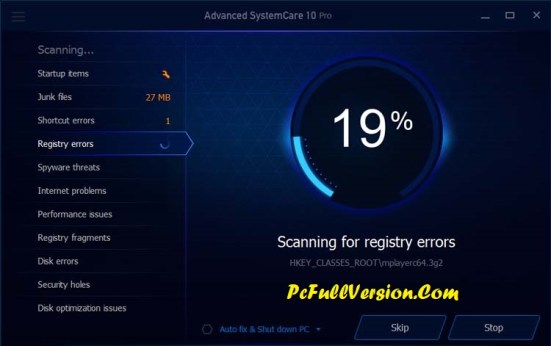 IObit Advanced SystemCare 10 Pro Crack