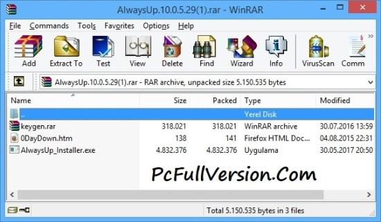 AlwaysUp Crack Patch Keygen & License Full Download