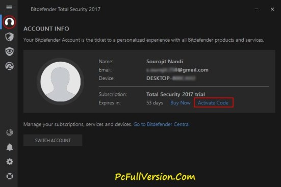 Bitdefender Total Security 2017 Serial Key