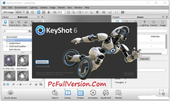 Luxion KeyShot 6 Crack Full Version Free Download