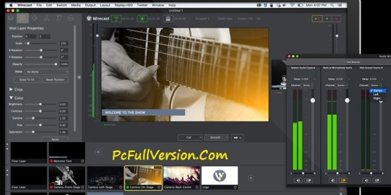 Wirecast Pro 7 Crack Latest Full Version Free Download