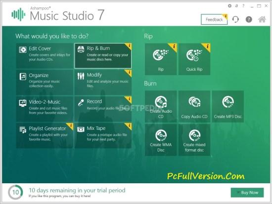 Ashampoo Music Studio 7 Crack