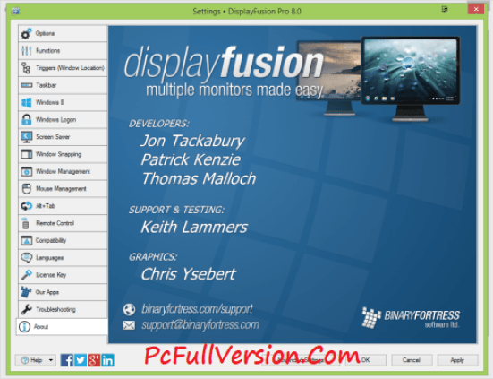 DisplayFusion Pro 8.1.2 License Key