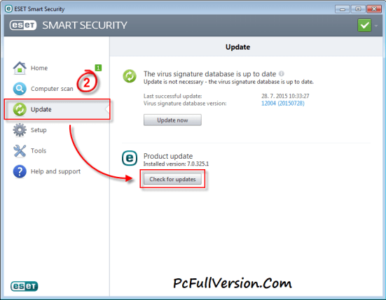 ESET NOD32 Antivirus 10 Username and Pasword