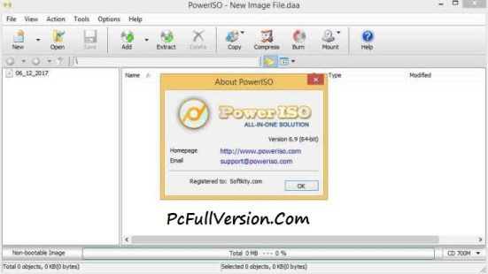 PowerISO 6.9 Crack