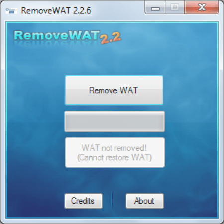 Removewat 2.2.6 Activator for Windows 7 Full Free Download