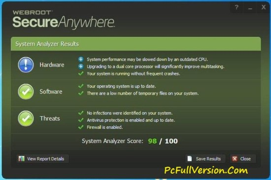 Webroot SecureAnywhere Antivirus Key 2017