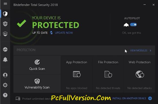 Bitdefender Total Security 2018 Offline Installer
