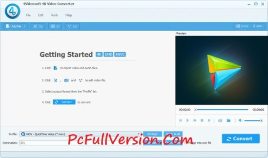 4Videosoft Video Converter Ultimate Crack Registration Code