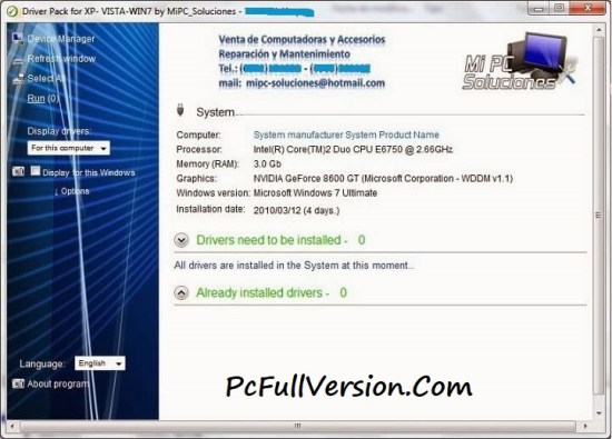 Cobra Driver Pack 2017 ISO Free Download For Windows