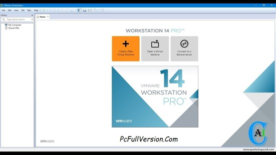 VMware Workstation 14 PRO Serial Key & Crack Download