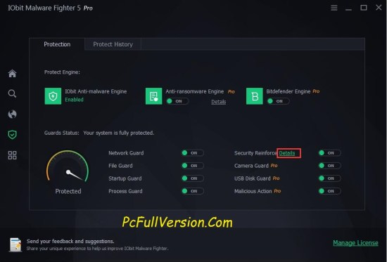 iObit Malware Fighter PRO Crack With Serial Key Download