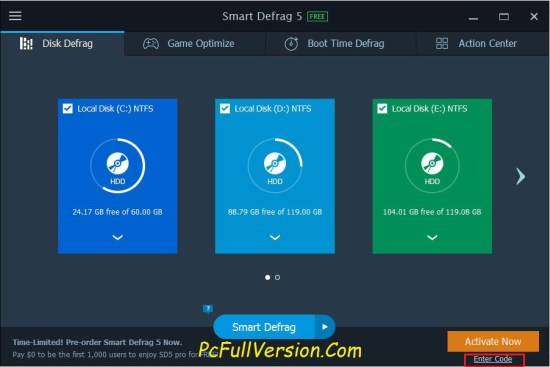 iObit Smart Defrag PRO Key With Crack Full Version Download