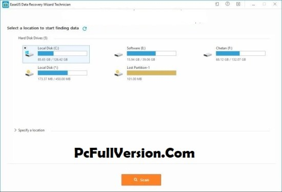 easeus data recovery wizard free 12.8 crack