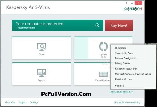 Kaspersky Antivirus 2019 Crack + Activation Code Download