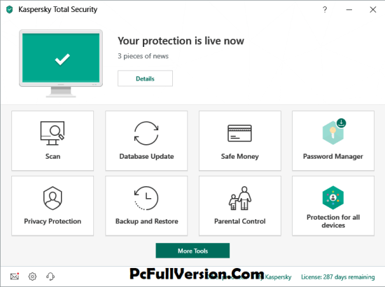 Kaspersky Total Security 2019 Activation Key