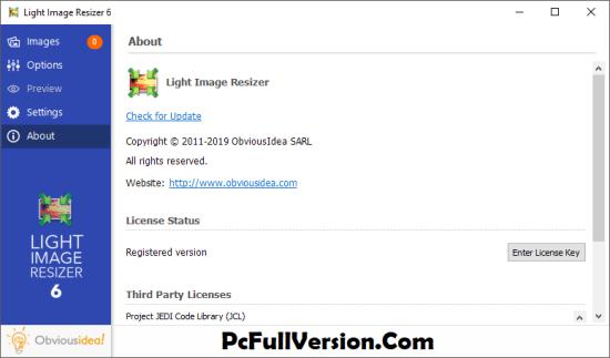 Light Image Resizer License Key