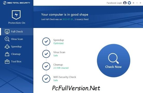 360 Total Security 2018 Crack Premium + License Key Download
