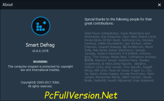 Iobit Smart Defrag PRO Crack Keygen + License Key Download