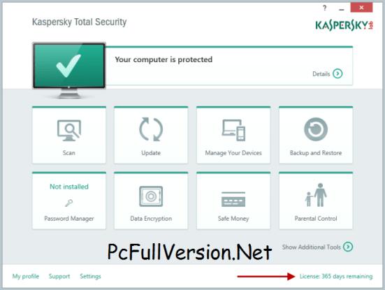 Kaspersky Total Security 2018 Crack + License Key Download