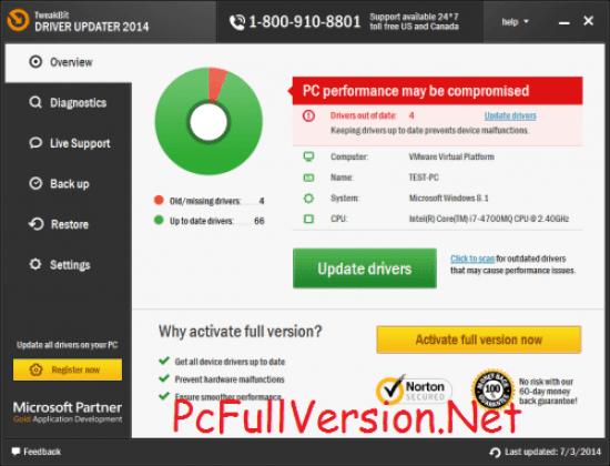 TweakBit Driver Updater License Key